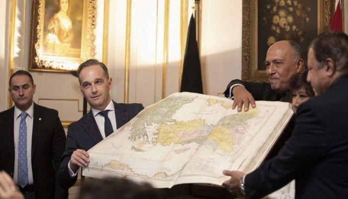ألمانيا تعيد لمصر أول أطلس إسلامي