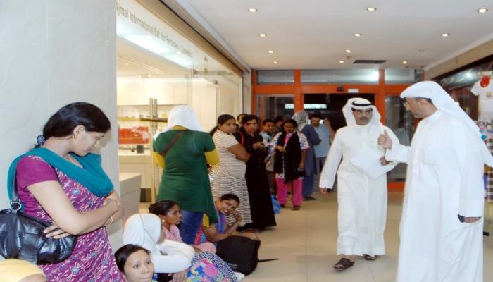الكويت تعتبر إعلانات بيع العمالة المنزلية إتجارا بالبشر وتحظرها