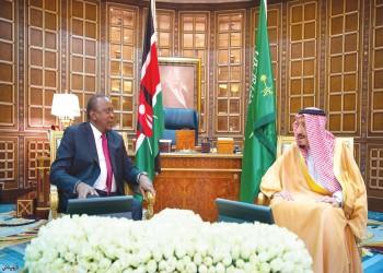 الملك سلمان يلتقي رئيسي كينيا ونيجيريا ووزير خارجية الإمارات