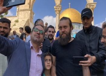 أحد أبطال قيامة أرطغرل يظهر في القدس.. ما القصة؟