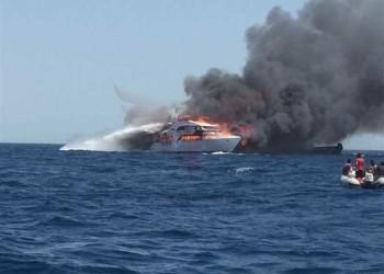 مصرع سائحة أمريكية في احتراق زورق شرقي مصر