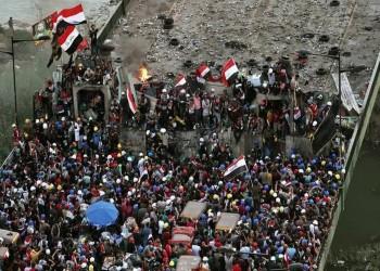 مقتل متظاهرين بينهما سيدة وإصابة 12 آخرين وسط بغداد