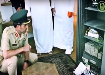 تنكر في نقاب وعباءة وسرق 800 ألف دولار.. قصة سقوط لص دبي