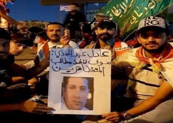 العراقيون يرفعون صور هاني رمزي.. والفنان المصري يدعمهم