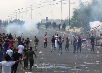 الأمن العراقي يفض اعتصاما بالقوة جنوبي البلاد