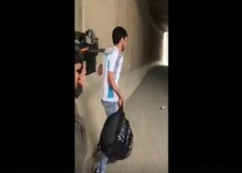 فيديو يوثق إطلاق جندية إسرائيلية النار على فلسطيني أعزل بالقدس