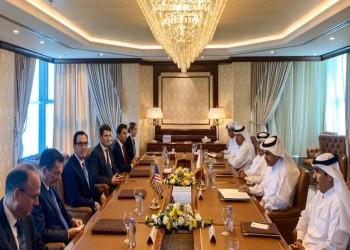 وزير الخزانة الأمريكي يجري مباحثات مع مسؤولين قطريين