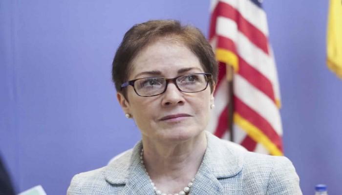 سفيرة أمريكا بأوكرانيا تشعر بالتهديد بسبب ترامب.. ما القصة؟