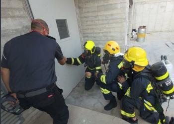 في خطوة نادرة.. تمرين فلسطيني إسرائيلي مشترك لإطفاء الحرائق