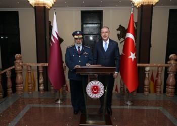 رئيس أركان قطر ووزير دفاع تركيا يبحثان تعزيز التعاون العسكري