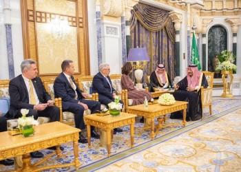 الملك سلمان يستقبل رئيسة المخابرات الأمريكية في الرياض