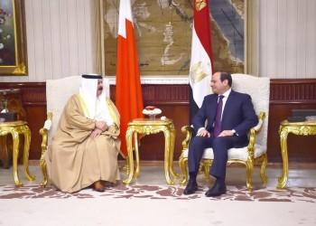 السيسي وعاهل البحرين يبحثان القضايا الثنائية