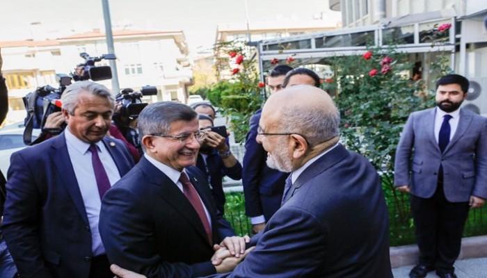 زعيم السعادة التركي يدعو داوود أوغلو وغل للانضمام للحزب