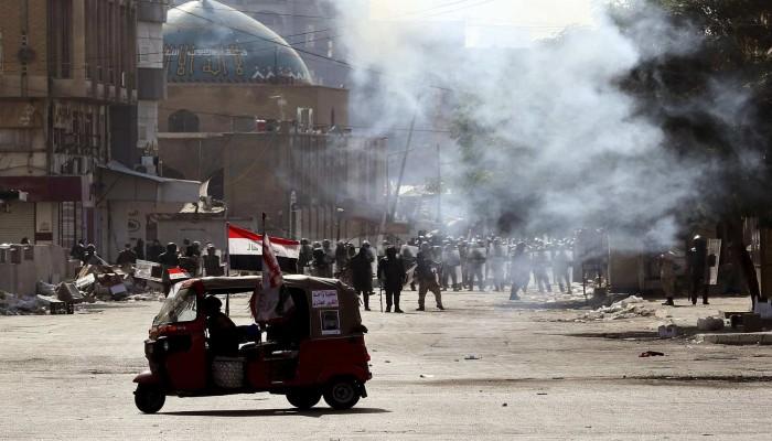 النواب الأمريكي يدعو لمحاسبة ممارسي العنف ضد محتجي العراق