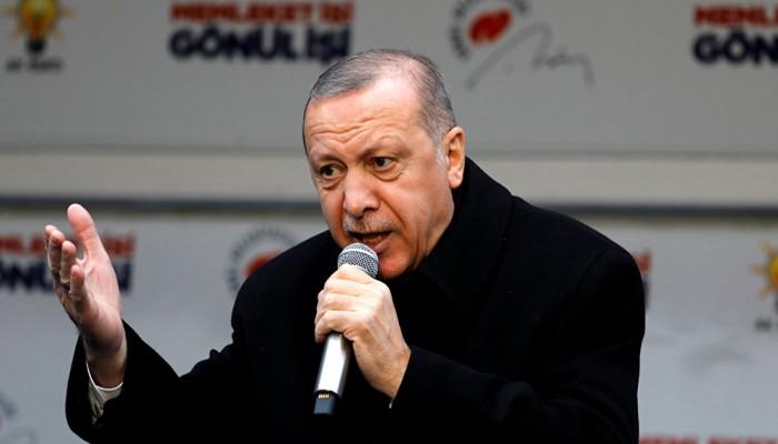 أردوغان: سأبحث مع ترامب أزمة بنك خلق