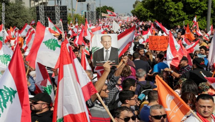 عون ومحاولة تبييض وجه النظام اللبناني