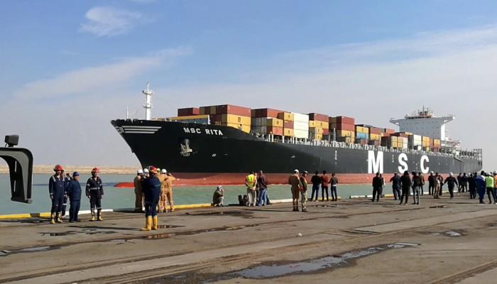 العراق.. عودة العمل بميناء أم قصر بعد توقف 10 أيام
