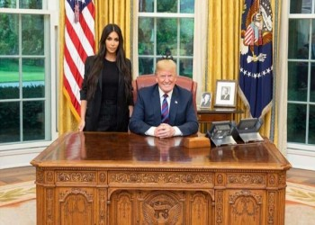 كيم كارداشيان: نصحوني بعدم مقابلة ترامب لسمعته السيئة
