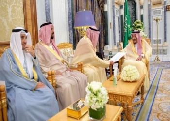 رسالة من أمير الكويت للعاهل السعودي