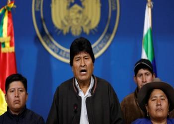 بوليفيا.. الرئيس موراليس يعلن استقالته بعد تدخل الجيش