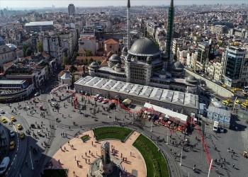 يضم مساحة للثقافة والفن.. افتتاح مسجد تقسيم بإسطنبول في 2020