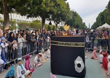 مجسم للكعبة يثير جدلا في تونس