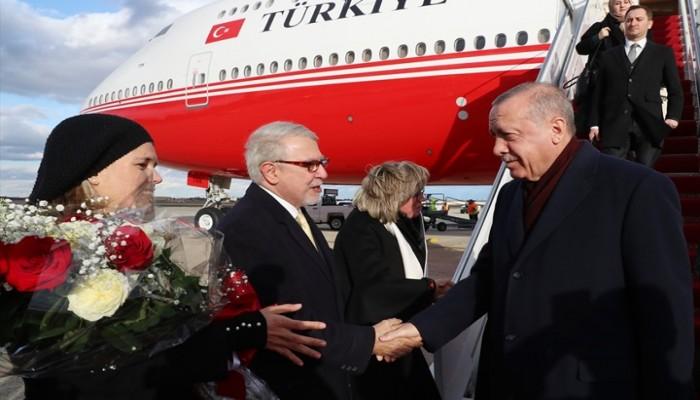 أردوغان يصل إلى واشنطن تلبية لدعوة ترامب