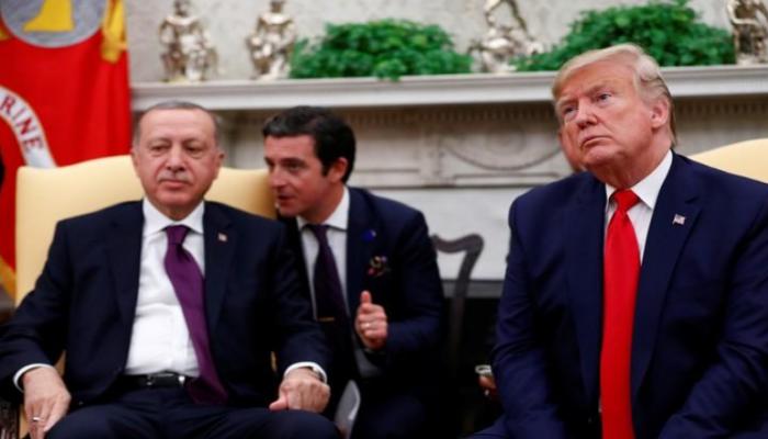 ترامب: أردوغان يشعر بخيبة أمل من الرئيس الفرنسي