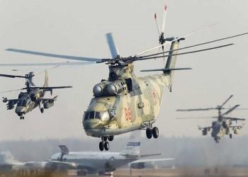 روسيا تنشئ قاعدة لطائرات الهليكوبتر شمالي سوريا