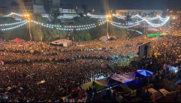 المنتخب العراقي يضمد جراح المتظاهرين بالفوز على إيران