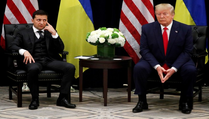 البيت الأبيض ينشر نص المحادثة الهاتفية بين ترامب ورئيس أوكرانيا