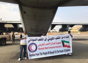 طائرة مساعدات كويتية جديدة إلى السودان