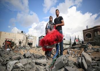 هكذا اغتالت صواريخ إسرائيل فرحة عروسين في غزة
