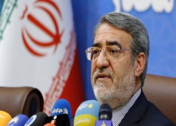 وزير الداخلية الإيراني يحذر المحتجين من استهداف الممتلكات