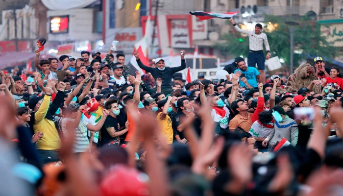 إضراب عام في العراق لدعم مطالب المتظاهرين