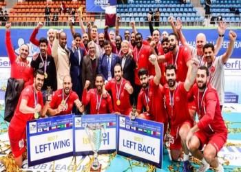 العربي القطري يهزم الوحدة السعودي ويتوج بالأندية الآسيوية لكرة اليد