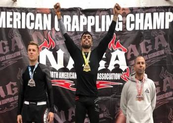 لاعب كويتي يحرز ذهبية بطولة أمريكا للجوجيتسو