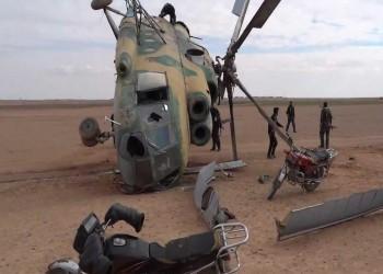 مصدر معارض: مقتل 3 ضباط في تحطم مروحية سورية