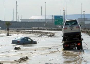أمطار غزيرة بالكويت.. ومخاوف من شبح سيول 2018 (فيديو)