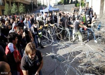 تأجيل جلسة البرلمان اللبناني بسبب حصار المتظاهرين