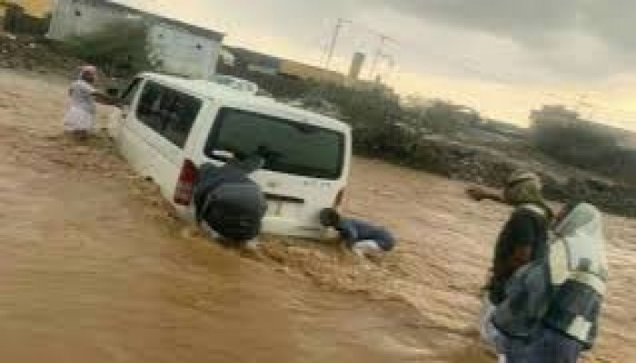 السيول تحتجز 45 طالبة جنوبي السعودية