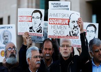 تراجع عدد الصحفيين المسجونين في تركيا