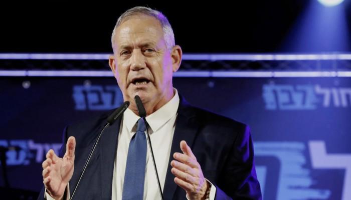جانتس يبلغ الرئيس الإسرائيلي عدم قدرته على تشكيل حكومة