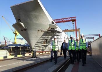 """تركيا: الحاملة """"أناضول"""" تلتحق بالأسطول الحربي في 2020"""