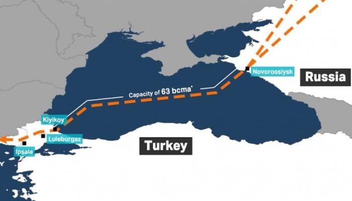 مشروع السيل التركي مع روسيا يدخل مراحله الأخيرة