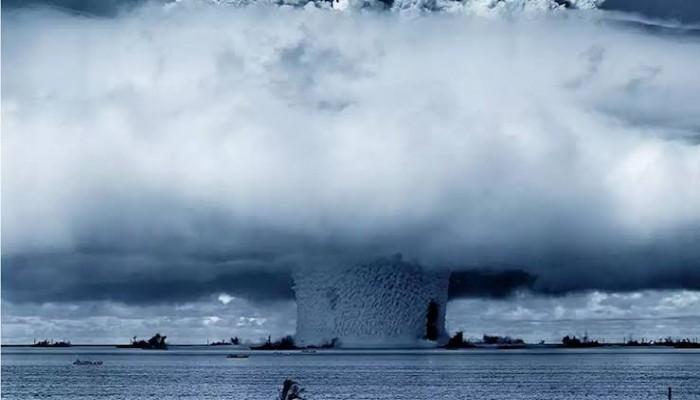 تضارب حول انفجار نووي تحت سطح بحر الصين الجنوبي
