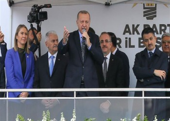 أردوغان متحديا زعيم المعارضة: سأترك منصبي إذا أثبت لقائي بأحد نوابه
