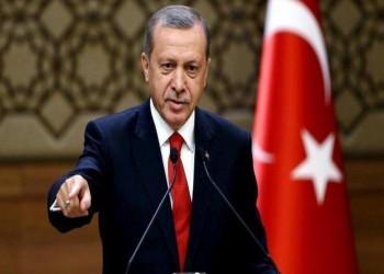 أردوغان: ضبطنا 33 ألف شاحنة سلاح للأكراد بسوريا
