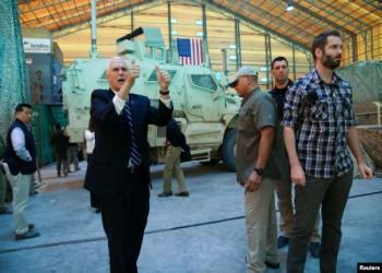 على طريقة ترامب.. بنس زار العراق دون لقاء قياداته