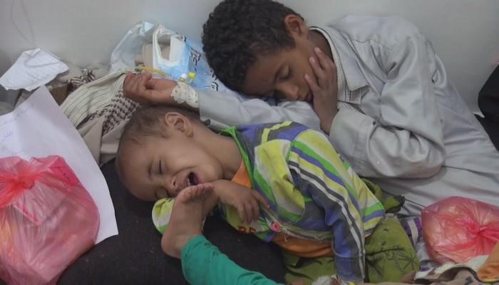الأمم المتحدة: مليون حالة يشتبه إصابتها بالكوليرا في اليمن منذ 2018